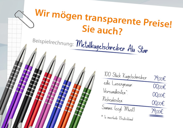 100 STÜCK SET METALL Werbekugelschreiber mit Gravur Gratis.Keine kosten mehr