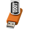 USB-Stick Rotate 4 GB mit Doming