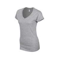Gildan Ladies' Soft Style V-Neck T-Shirt