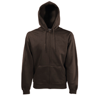 Fruit of the Loom Hooded Zip Sweat