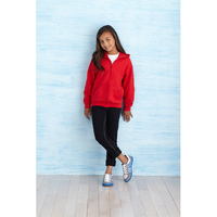 Gildan Kids' Full Zip Hooded Sweat