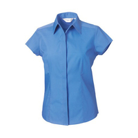 Russell Collection Popelin Bluse