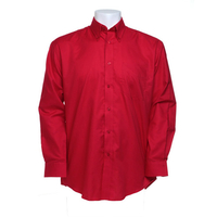 Kustom Kit Workwear Oxford Shirt LS