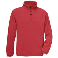 B&C 1/4 Zip Fleece Top