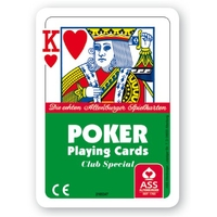 Spielkarten Poker Internationales Bild