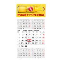 Einblatt-Monatskalender Commerce 5 Post A Complete