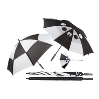 Windproof Golf Regenschirm Budyx