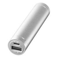 Bullet Bolt Alu-Powerbank 2200 mAh
