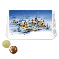 Salzburger Schokolade Knusper-Adventskalender - Standardmotive