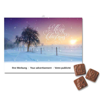 A5-Schoko-Adventskalender - Standardmotive