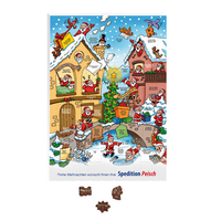 Friedel Classic Wand-Adventskalender, Standardmotiv