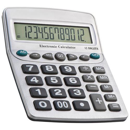 XXL Tischrechner mit 12 Digits NEU