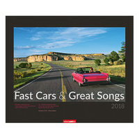 Weingarten Kalender Fast Cars and Great Songs