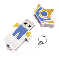 USB-Stick Soft PVC 2D small 4 GB