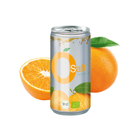 Bio Orangensaft, 200 ml, No Label Look (Alu Look)