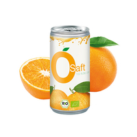 Bio Orangensaft, 200 ml, Smart Label