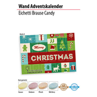 Wand Adventskalender mit Brause Candy