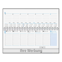 Tischquerkalender Business
