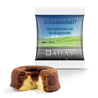 Mini Kuchen Bahlsen in Folie mit Digitaldruck