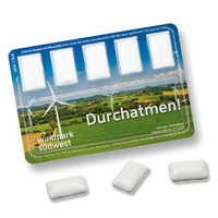 Smart Card mit Kaugummi-Dragees