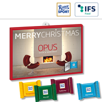 Wunsch-Adventskalender BUSINESS mit Ritter Sport QUADRETTIES